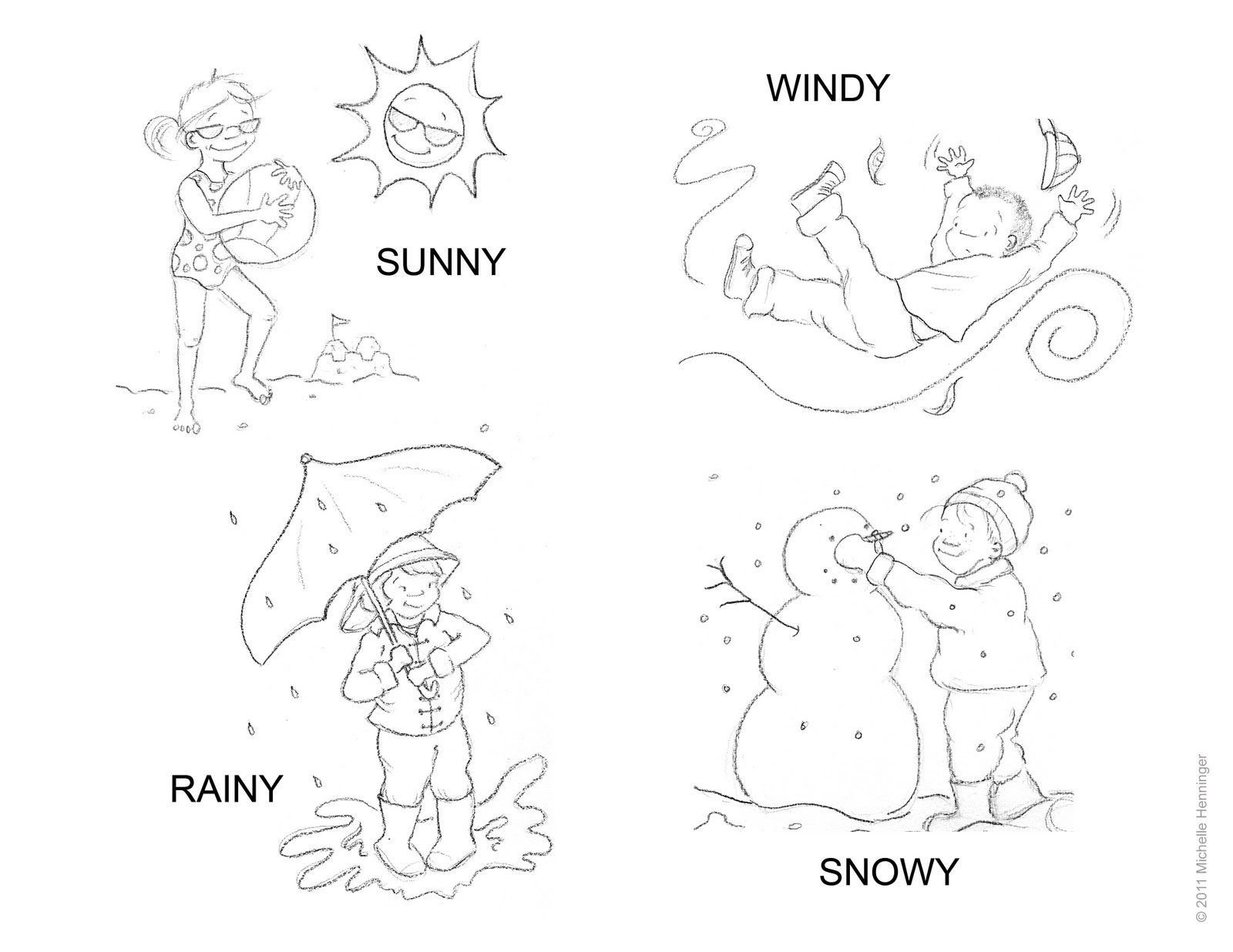 Weather Worksheet New 834 Weather Color By Number Worksheets