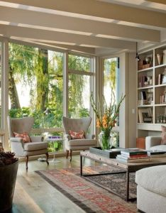Living room design ideas pictures remodel and decor this is my idea of  great space light windows that bring the outdoors in also love for home pinterest rooms interiors rh