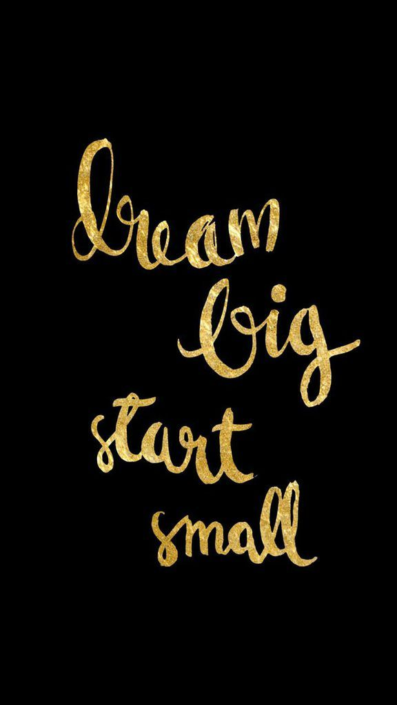 Design Love Fest Fall Wallpaper Black Gold Dream Big Iphone Phone Lock Screen Wallpaper