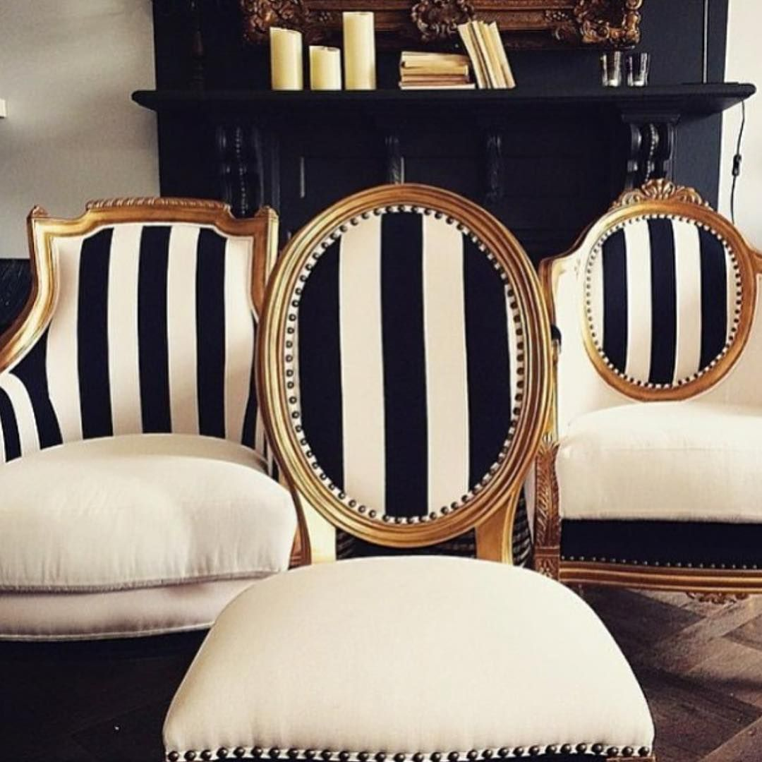 White And Gold Chair My Kind Of Chairs Antique With A Modern Twist Antique
