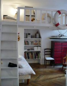 Francois and raphaelle   small space solution also tapanco recamara pinterest rh