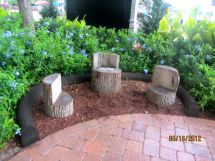 Log Benches Ideas Tree Furniture