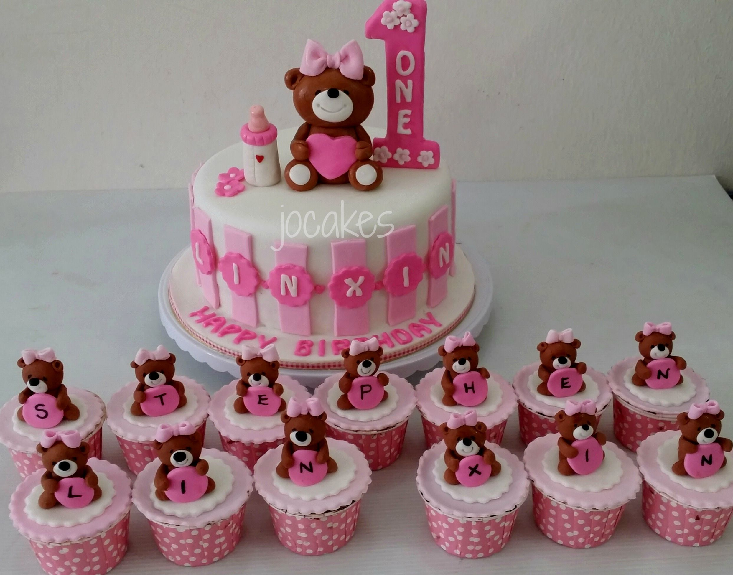 Birthday Cake For A Year Old Baby Girl
