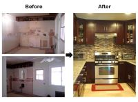 Older Model Mobile Home Makeover before and after | Before ...