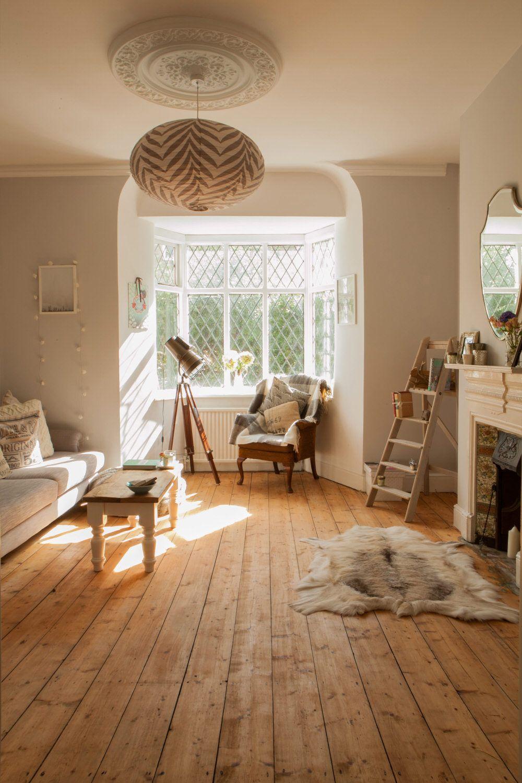 Hannah's Renovation Victorian Living Room Scandinavian And
