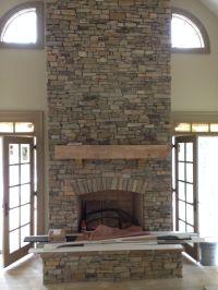 Veneer | Home Ideas | Pinterest | Porch fireplace, Stone ...