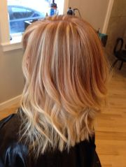 cool strawberry blonde reverse