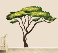 Amazon.com: Safari Tree Decal, African Tree Decal, Jungle