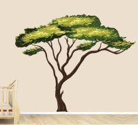 Amazon.com: Safari Tree Decal, African Tree Decal, Jungle ...