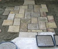Homemade paver stones image http://www.themoldstore.us ...