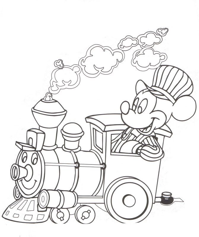 Disney Fall Coloring Pages Interactive Magazine: Mickey