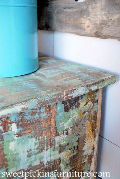 Sweet Pickins Furniture Layering Paint Technique With