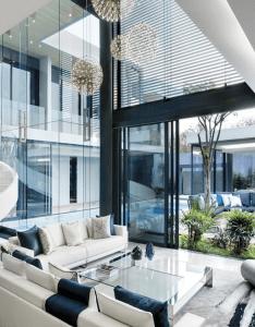 Glass houses also modern living room decor ideas bocadolobo rh pinterest