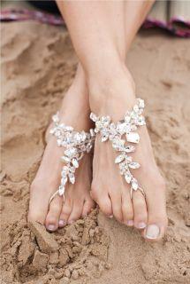 Ariana Poppy Barefoot Sandals Elegant Steps Stunning