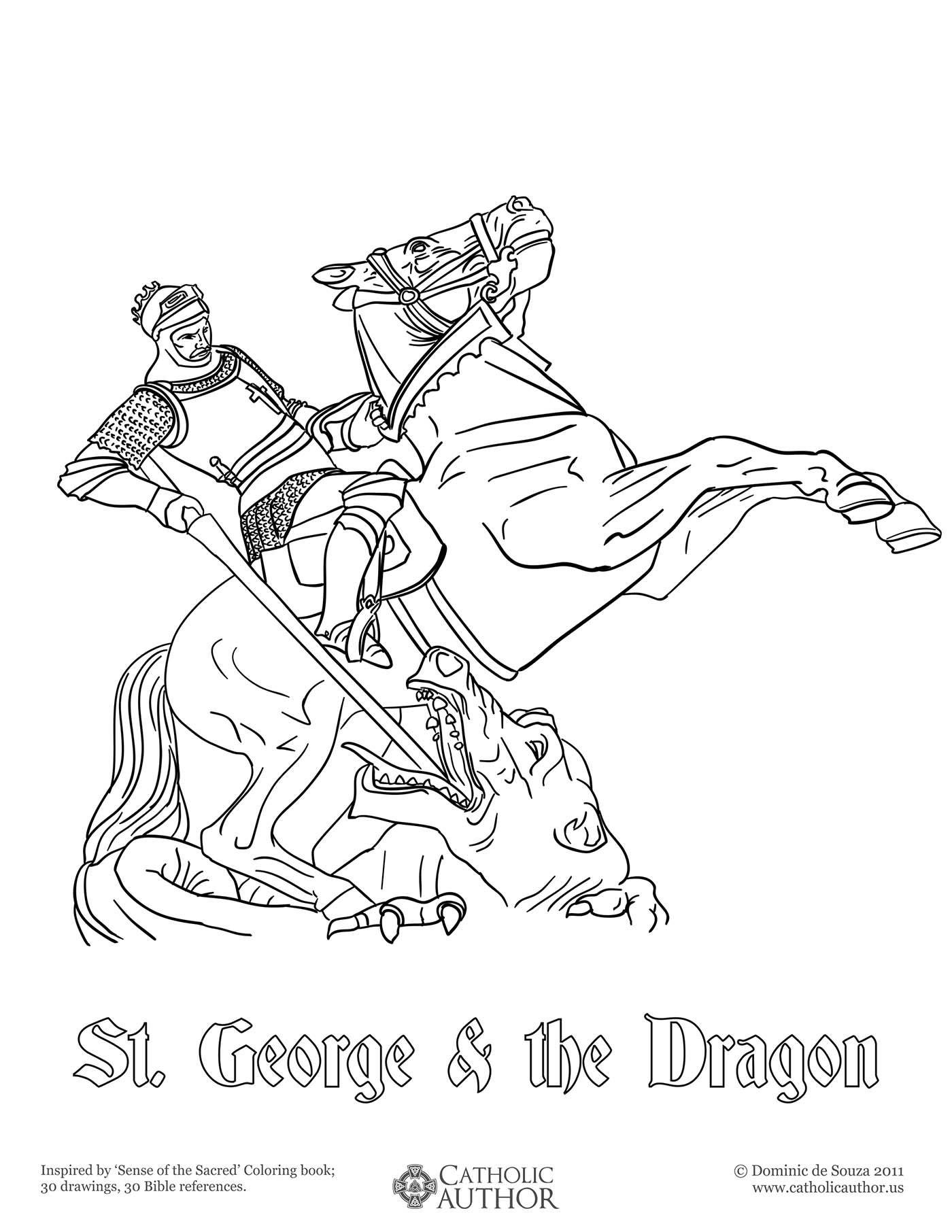 St George Amp The Dragon