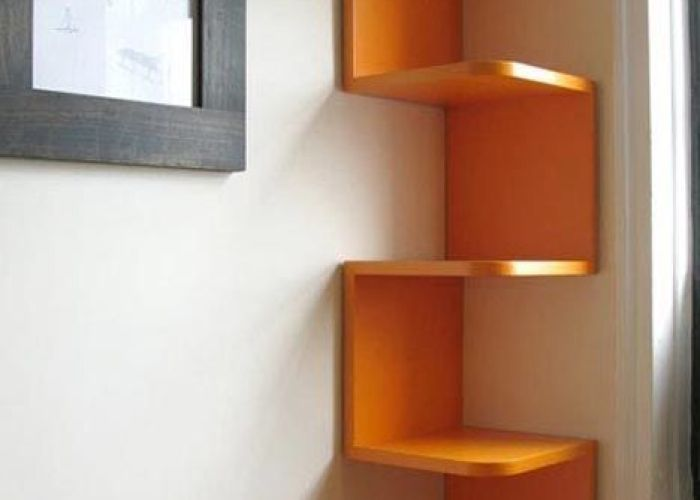 The most creative wall shelf design ideas corner shelves and in large shelving units also