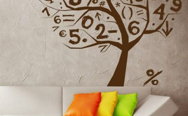 Math Tree Wall Sticker This Math Tree Wall Decoration Is