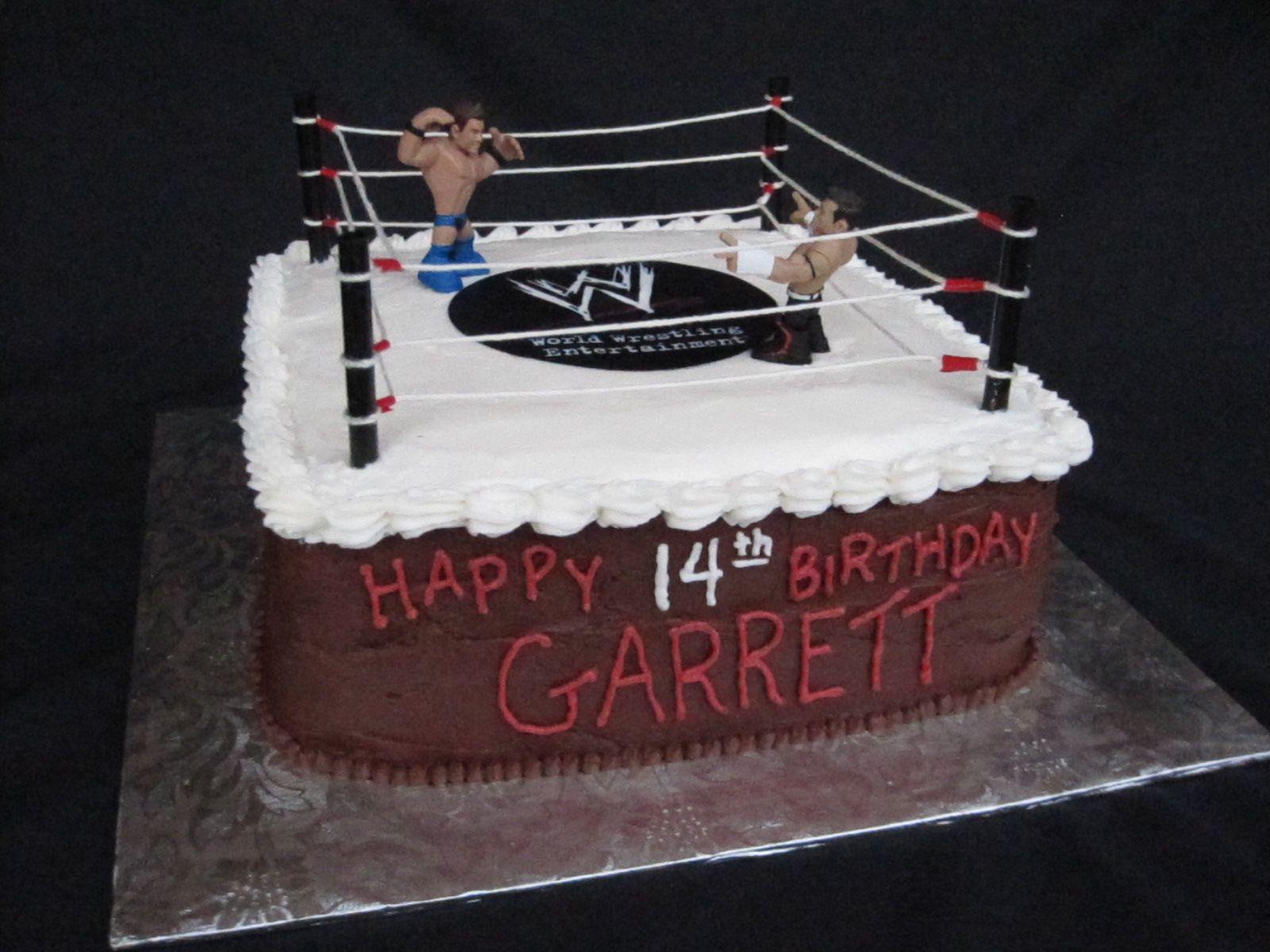 Smack Down Theme John Cena Birthday Cake