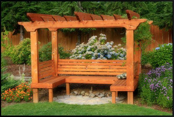 Grape Trellis With Bench Navarra Gardens A Gorgeous