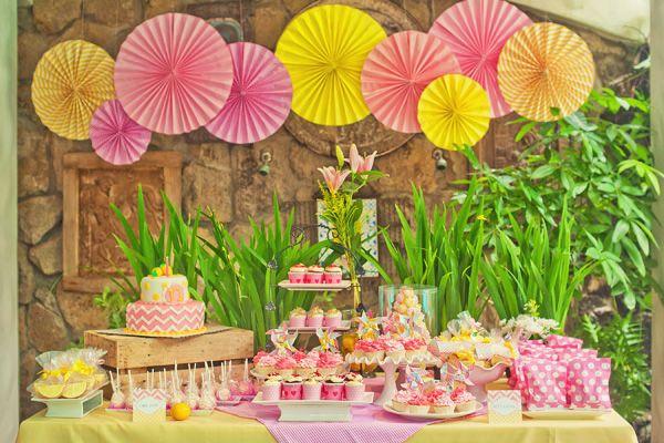 Garden Birthday Party Kara's Party Ideas First Birthday Garden