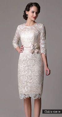 45 Amazing Short Wedding Dress For Vow Renewal | Short ...