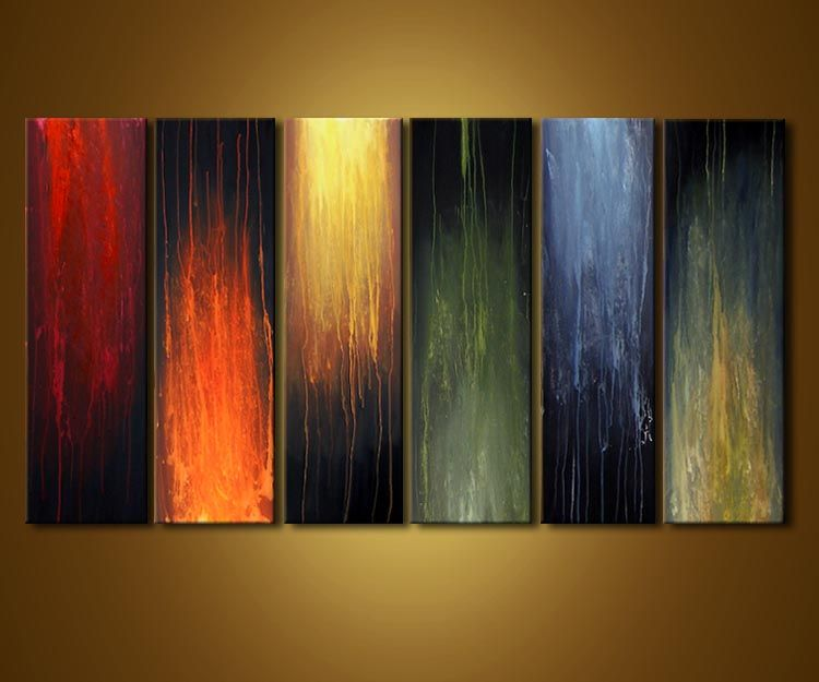 Original Abstract Art Paintings By Osnat Home Decor Painting