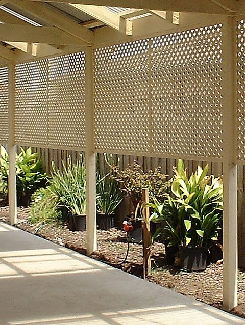 Fence With Lattice Better Homes And Gardens Home Decorating