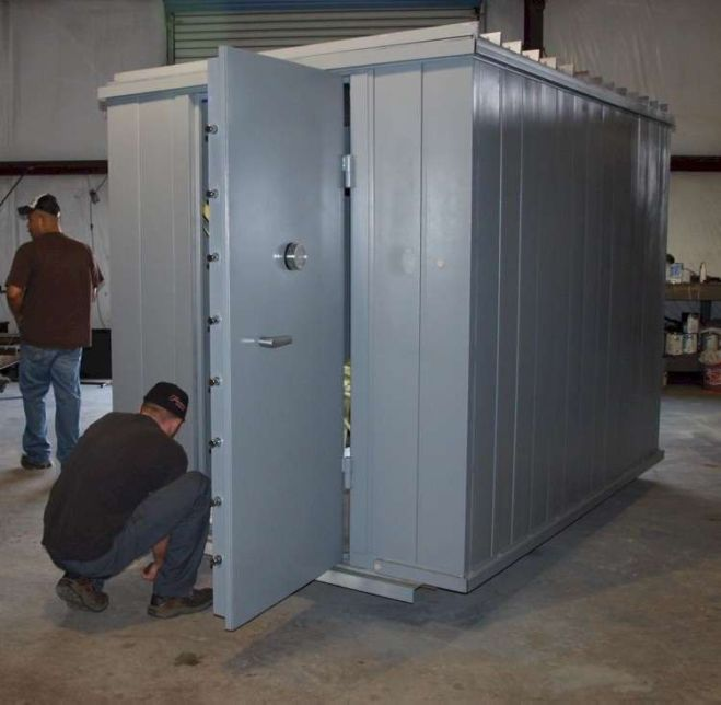 Modular vault and safe room luxe house ideas pinterest