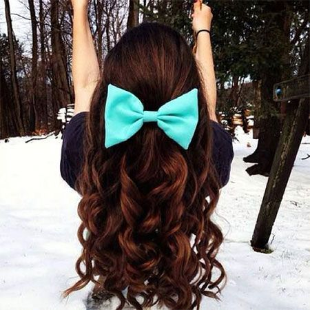 Pretty Hairstyles With Bows Pretty Hair Trend 2017