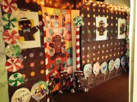 Gingerbread House. Door decorating contest. | Holidays ...