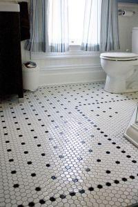 Style Spotlight: Octagon Mosaic Floor Tile, A Classic Look