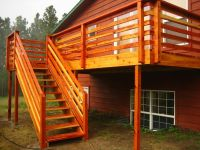 horizontal deck railing designs - Google Search | deck ...