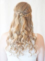 prom hairstyles with brids
