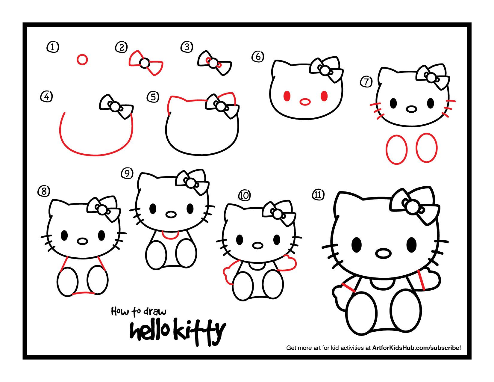 Hello Kitty Worksheet