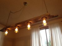 Driftwood Pendant Light https://www.etsy.com/shop ...