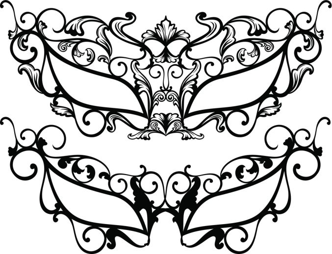 Fancy Masquerade Masks Templates
