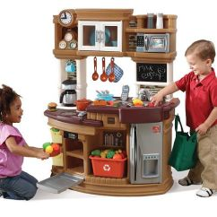 Childrens Play Kitchens 3 Piece Kitchen Rug Set Step2 Lil' Chef's Gourmet - Neutral Toys ...