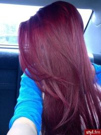 Burgundy hair color | Health & Beauty | Pinterest ...