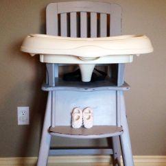 Eddie Bauer Wood High Chair Retro Chairs Babies Re Loved Painted In Ascp Paris
