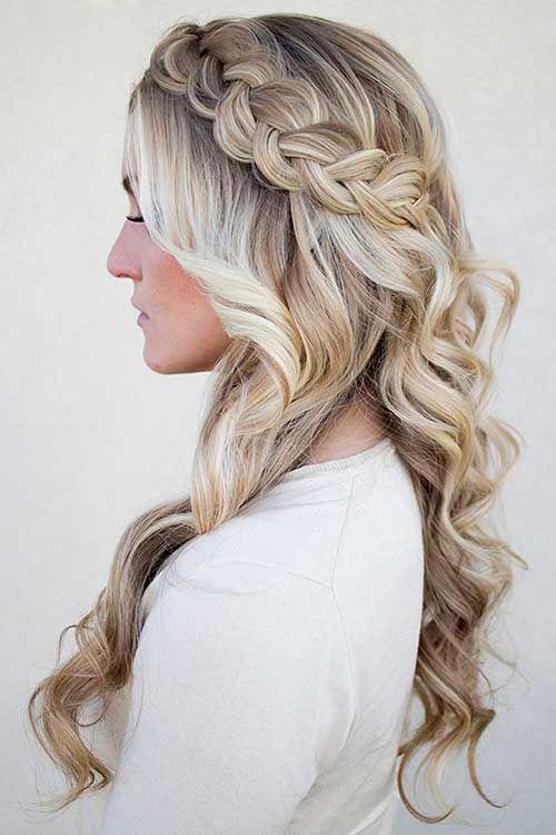 Bridal Wedding Braided Hairstyles For Long Hair Bridal Hair