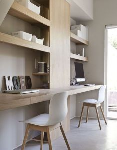 How to eliminate your paper clutter modern also workspace design minimalist rh pinterest
