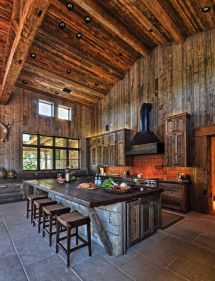 Rustic Modern Ranch Style Kitchens