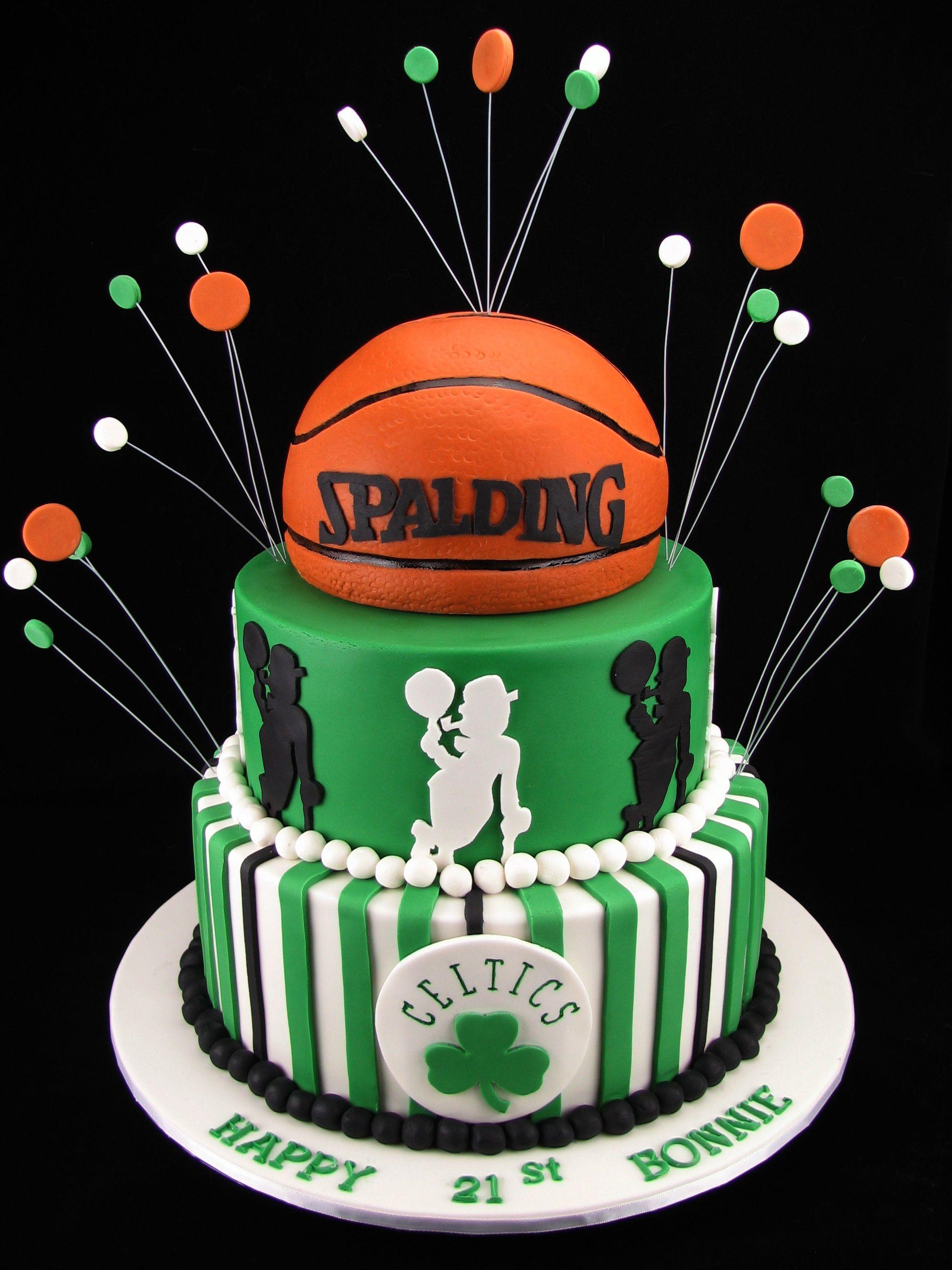 Happy Birthday Cake Boston Celtics