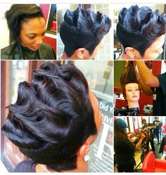 Soft Wave Hairstyles For Short Hair Google Search Hairstyle