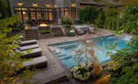 Pool Backyard Oasis Ideas : Attractive Backyard Oasis