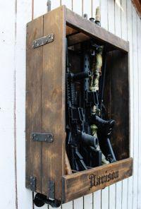 Homemade Gun Cabinet - Bing images