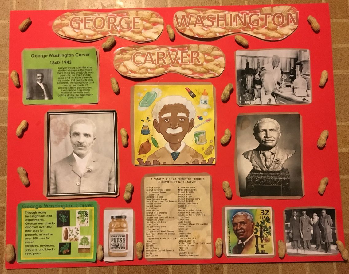 Black History Month Project George Washington Carver