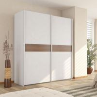Artwork of White Sliding Closet Door Options