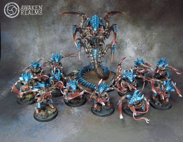 Tyranids Small Army Miniatures - Painting