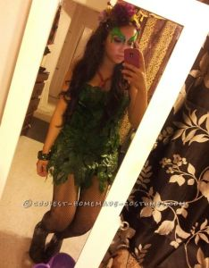 Quick and easy poison ivy costume also costumes rh in pinterest